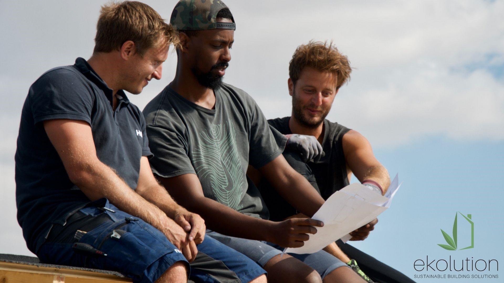 Henrik, Naib och Remi bildade år 2015 företaget Ekolution AB