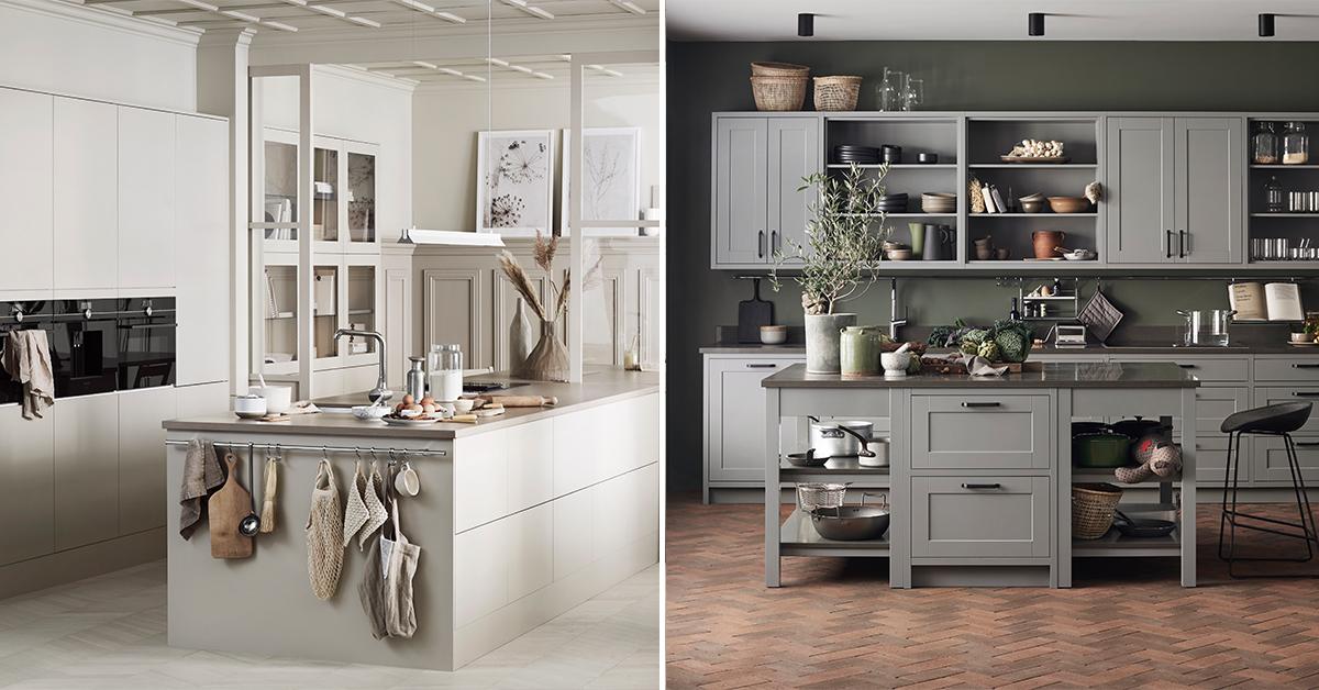 Folk vill ha mörkare och varmare färger i sina kök berättar Therese från Marbodal.